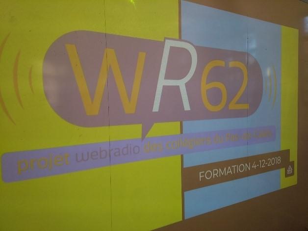 Logo de la Web radio WR62