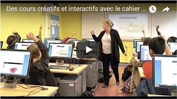Des cours créatifs et interactifs avec le cahier de textes